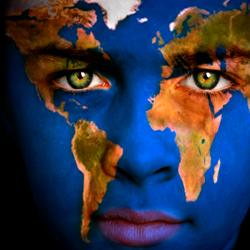 The world globe Dr Lori Todd